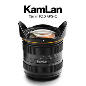 KAMLAN 15mm F2 [フジフイルム用] 製品画像