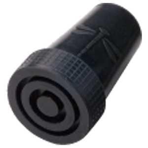 ケイホスピア 杖先ゴム 16から17mm 黒(トンボマーク付) 黒16mm ツエサキゴム