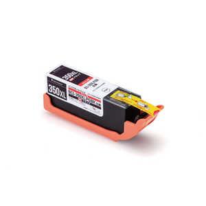 エレコム ELECOM 互換 キヤノンBCI-350XLPGBK(ブラック)対応 リサイクルインクカートリッジ ブラック CCC350XLBLK