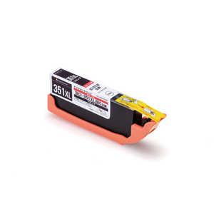 エレコム ELECOM 互換[キヤノン:BCI-351XLBK(ブラック)対応] リサイクルインクカートリッジ ブラック CCC351XLBLK