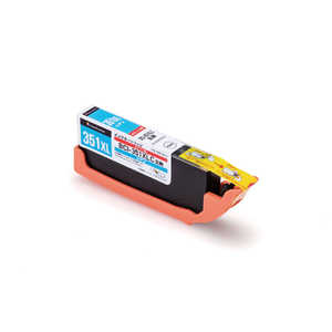 エレコム ELECOM (互換)[キヤノン:BCI-351XLC(シアン)対応] リサイクルインクカートリッジ シアン CCC351XLCY