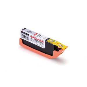 エレコム ELECOM (互換)[キヤノン:BCI-351XLGY(グレー)対応] リサイクルインクカートリッジ グレー CCC351XLGRY
