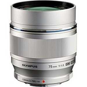 オリンパス OLYMPUS M.ZUIKO DIGITAL ED 75mm F1.8(シルバー) ED75MMF1.8