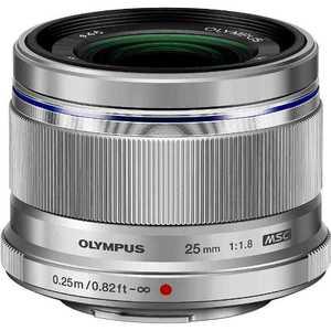 オリンパス OLYMPUS M.ZUIKO DIGITAL 25mm F1.8「マイクロフォーサーズマウント」(シルバー) シルバー 25MMF1.8シルバー