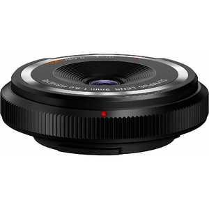 オリンパス OLYMPUS フィッシュアイボディーキャップレンズ(9mm F8.0 Fisheye) ブラック BCL0980BLK