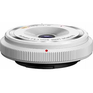 オリンパス OLYMPUS フィッシュアイボディーキャップレンズ(9mm F8.0 Fisheye) ホワイト BCL0980WHT