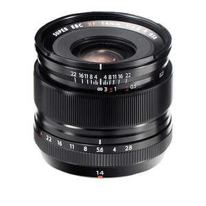 富士フイルム FUJIFILM カメラレンズ FUJINON(フジノン) [FUJIFILM X /単焦点レンズ] ブラック FXF14MMF2.8R