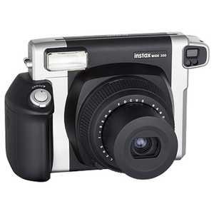 富士フイルム FUJIFILM インスタントカメラ instax WIDE 300 『チェキWIDE』 ブラック INSWIDE300