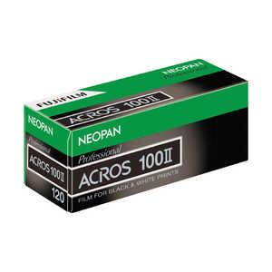 富士フイルム FUJIFILM 「ブローニー」ネオパン100 ACROS II(アクロス2)120 ブローニーサイズ12枚撮 120ACROS100212EX1