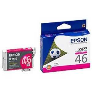 エプソン EPSON インクカートリッジ マゼンタ ICM46