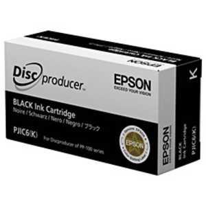 エプソン EPSON インクカートリッジ (ブラック) PJIC6K