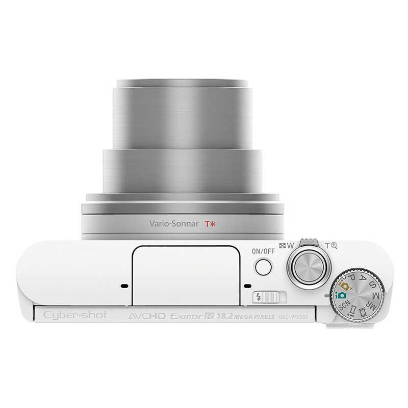 【中古】ソニー Cyber-shot DSC-WX500 W ホワイト|カメラのキタムラ