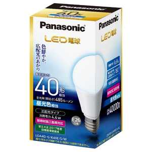 パナソニック Panasonic Panasonic LED電球 ホワイト [E26/昼光色/40W相当/一般電球形/広配光] E26/D/40W LDA4DGK40ESW