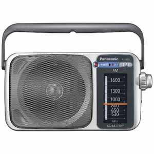 パナソニック AM 1バンドラジオ R-2255-S ラジオ