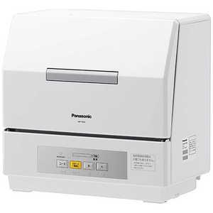 パナソニック Panasonic 食器洗い乾燥機「プチ食洗」(3人用・食器点数18点) W NPTCR4