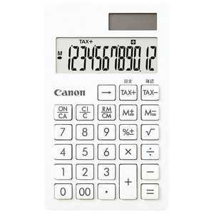 キヤノン CANON キヤノン 電卓「シンプルスマートシリーズ」(12桁) SI12TSOB