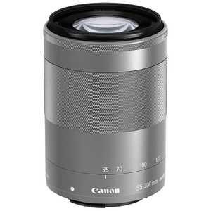 キヤノン CANON 交換レンズ EF-M55-200mm F4.5-6.3 IS シルバー EFM55200ISSTMSL