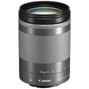 キヤノン CANON キヤノン 交換レンズ シルバー EFM18150ISSTMSL