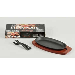 パール金属 スプラウト 鉄鋳物製ステーキ皿 ミニ ミニ HB3054