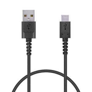 エレコム ELECOM スマートフォン用USBケーブル USB(A-C) 認証品 高耐久 0.3m ブラック ブラック MPAACS03NBK