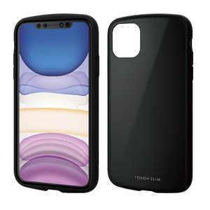 エレコム ELECOM iPhone 11 6.1インチ TOUGH SLIM LITE ブラック ブラック PMA19CTSLBK