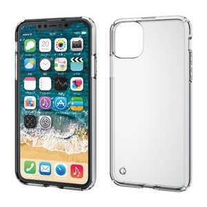 エレコム ELECOM iPhone 11 Pro Max 6.5インチ ハイブリッドケース クリア クリア PMA19DHVCCR