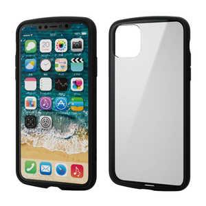 エレコム ELECOM iPhone 11 Pro Max 6.5インチ TOUGH SLIM LITE フレームカラー ブラック ブラック PMA19DTSLFCBK