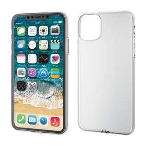 エレコム ELECOM iPhone 11 Pro Max 6.5インチ ソフトケース 極み クリア クリア PMA19DUCTCR