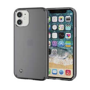 エレコム ELECOM iPhone 12 mini ハイブリッドケース TRANTECT ブラック ブラック PMA20AHVCBK