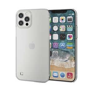 エレコム ELECOM iPhone 12/12 Pro 6.1インチ対応 ハードケース ストラップホール付き クリア クリア PMA20BPVSTCR
