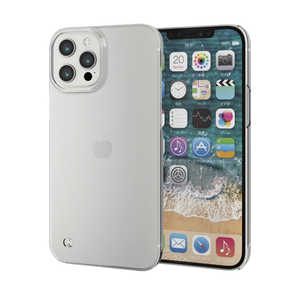 エレコム ELECOM iPhone 12 Pro Max ハードケース ストラップホール付き クリア クリア PMA20CPVSTCR