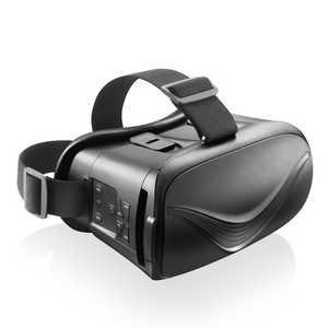 エレコム ELECOM VRゴーグル Bluetoothコントローラー一体型 ブラック ブラック VRGBT02BK
