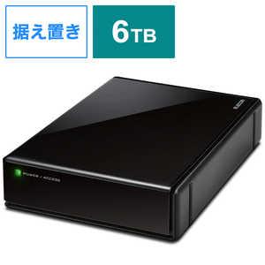 エレコム ELECOM ELECOM SeeQVault Desktop Drive USB3.2(Gen1) 6.0TB Black ブラック ELDQEN2060UBK