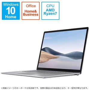 Surface Laptop 4 15インチ/Ryzen 7/8GBメモリ/512GB SSD/Office Home and Business 2019付モデル