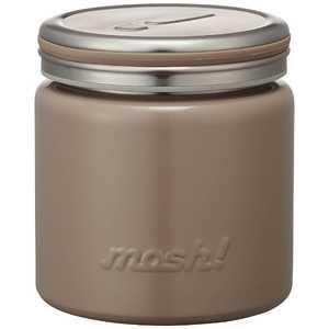ドウシシャ フードポット「mosh!」(容量300ml) BR DMFP300