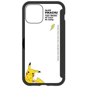 グルマンディーズ ポケットモンスター SHOWCASE+ iPhone 12/12 Pro 6.1インチ対応ケース ピカチュウ ピカチュウ POKE670A
