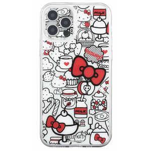 グルマンディーズ サンリオキャラクターズ IIII fit Crystal Shell iPhone 12 Pro対応ケース ハローキティ SANG-114KT キティ SANG114KT