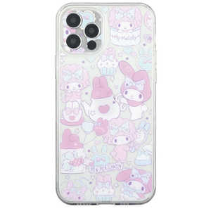 グルマンディーズ サンリオキャラクターズ IIII fit Crystal Shell iPhone 12 Pro対応ケース マイメロディ SANG-114MM マイメロ SANG114MM