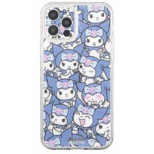 グルマンディーズ サンリオキャラクターズ IIII fit Crystal Shell iPhone 12 Pro対応ケース クロミ SANG-114KU クロミ SANG114KU