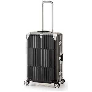 スーツケース ハードキャリー 63L departure(ディパーチャー) レザーマットブラック H063LMBK HD50927