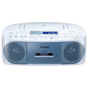 東芝 CDラジオカセットレコーダー TY-CDS7(L) ラジカセ/CDラジオ