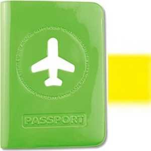 スタジオエヌ ALIFE ハッピーフライト パスポートカバー イエロー SNCF0125