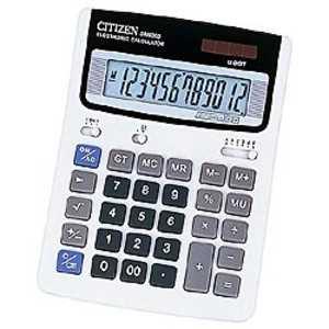 シチズンシステムズ スタンダード電卓 (12桁) DM6005Q