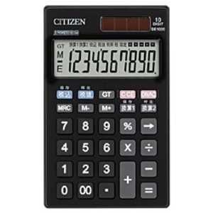 シチズンシステムズ 手帳型電卓 (10桁) DE1020
