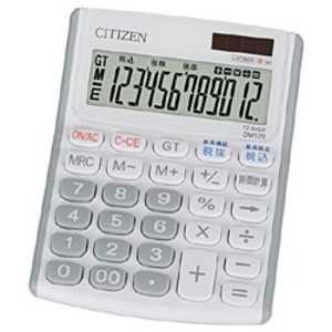 シチズンシステムズ ミニデスク型電卓 (12桁) DM120