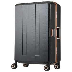 レジェンドウォーカー 重量チェッカー搭載スーツケース 75L TRAVEL METER(トラベルメーター) ブラックカーボン H075BKCB 6703N64BKCB