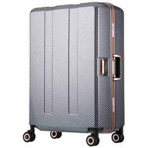 レジェンドウォーカー 重量チェッカー搭載スーツケース 75L TRAVEL METER(トラベルメーター) ネイビーカーボン H075NVCB 6703N64NVCB