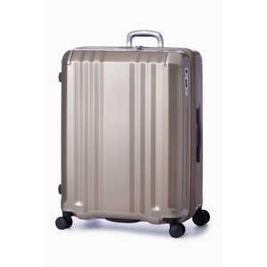 A.L.I スーツケース ハードキャリー 102L(120L) デカかるEdge シャンパンゴールド H102CGD ALI008102