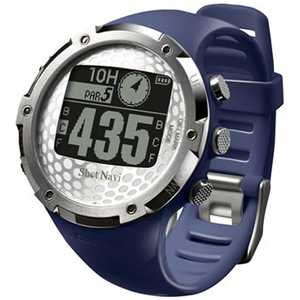 ショットナビ 腕時計型GPSゴルフナビ ShotNavi W1-FW(ネイビー) ネイビー ショットナビW1FWNV