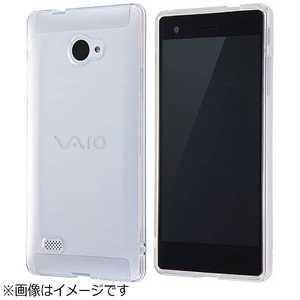 レイアウト レイ・アウト VAIO Phone Biz用 TPUソフトケース ウルトラクリア クリア RTVPB1TC3C
